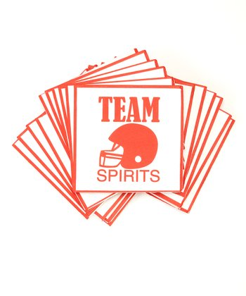 'Team Spirits' Napkin - Set of 40