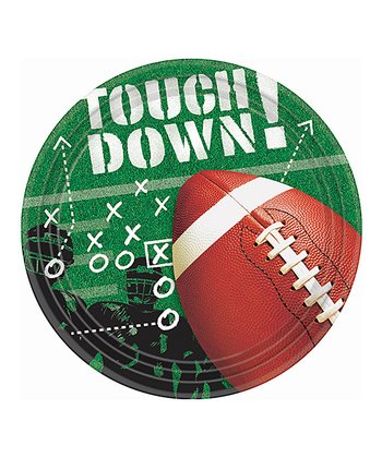 Football Frenzy 9'' Plate - Set of 50
