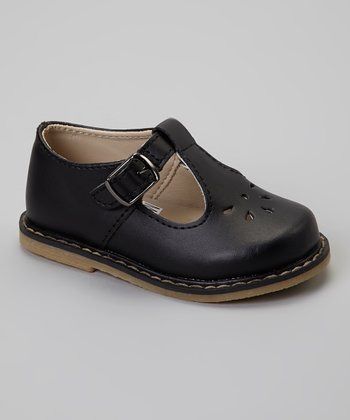 Black Tate T-Strap Shoe