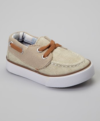 Tan Harbordale Boat Shoe