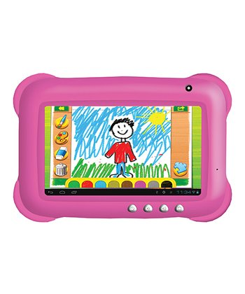 Pink 7'' Kid Tablet