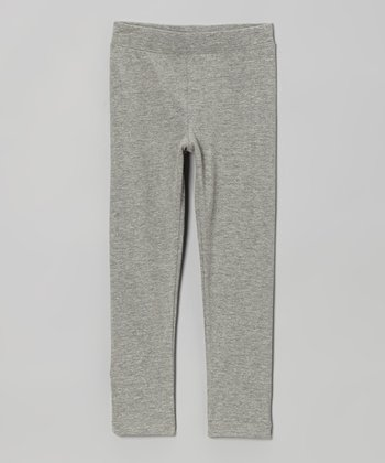 Heather Gray Leggings - Infant, Toddler & Girls