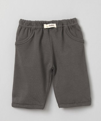 Clay Gray Signature Pants - Infant