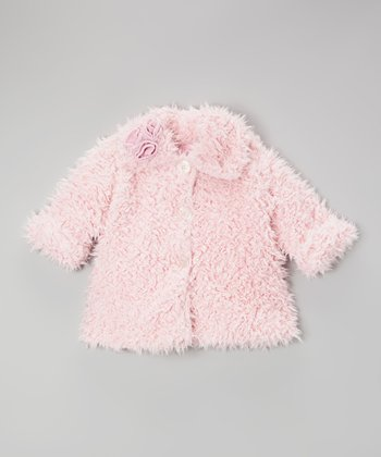 Pink Cuddle Bear Sweet Pea Coat - Toddler & Girls