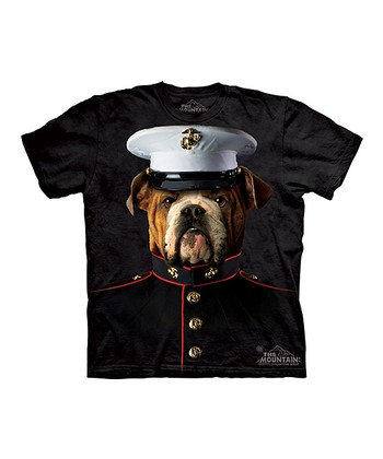 Black Bulldog Marine Tee - Toddler & Boys