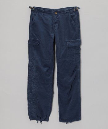 Ink Corduroy Garm Pants - Girls