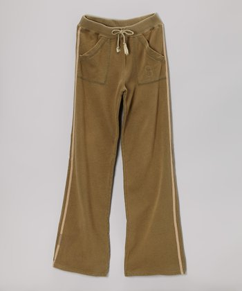 Mountain Drawstring Pants - Girls