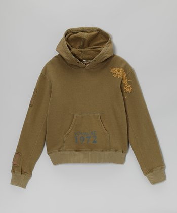 Mountain Patch Hoodie - Girls
