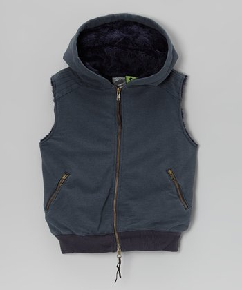 Bijou Zip-Up Vest - Girls