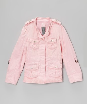 Carnation Military Jacket - Toddler & Girls