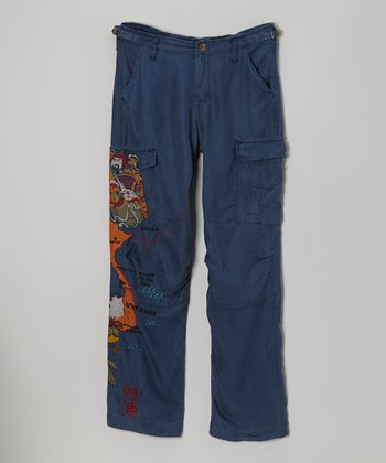 Ink 'Vietnam' Silk Pants - Girls