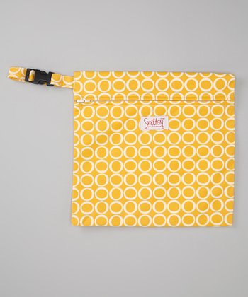 Smitten Baby Canary Wet Tote