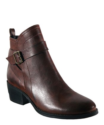 Brown Bed-Rock Ankle Boot