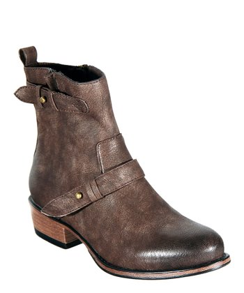Brown Concept Ankle Boot