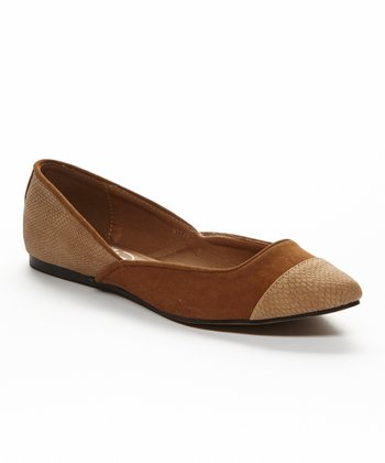 Camel & Brown Milan Flat