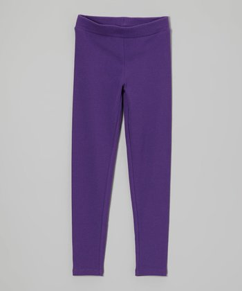 Purple Plum Leggings