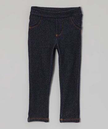 Navy Jeggings - Toddler
