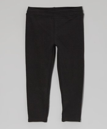 Black Leggings - Toddler