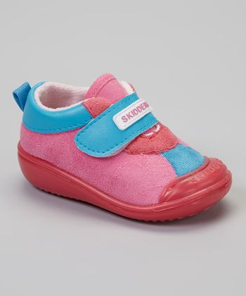 Skidders Pink Casual Sport Gripper Shoe