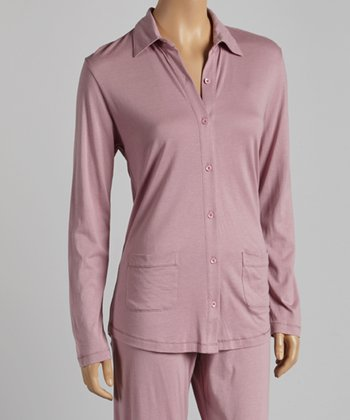 Rosewood Pajama Top - Women