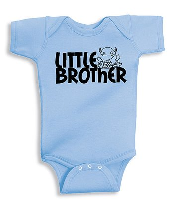 Light Blue 'Little Brother' Bodysuit - Infant