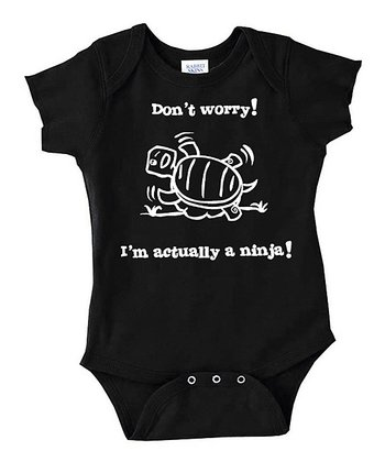 Black Ninja Bodysuit - Infant