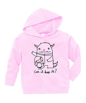 Pink 'Can I Keep It' Hoodie - Toddler & Girls