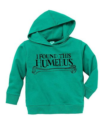 Kelly Green 'Humerus' Hoodie - Toddler & Kids