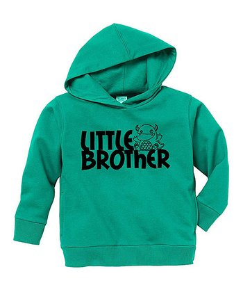 Kelly Green 'Little Brother' Hoodie - Toddler & Boys