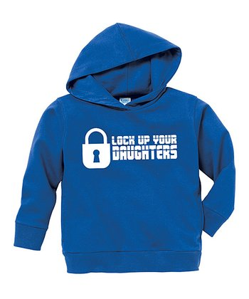 Royal Blue 'Lock Up Your Daughters' Hoodie - Toddler & Boys
