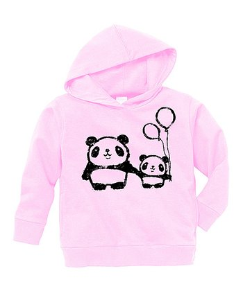 Pink Panda Love Hoodie - Toddler & Girls