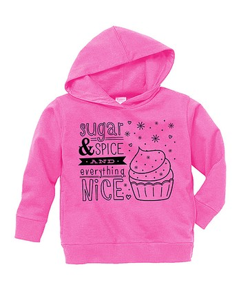 Raspberry 'Sugar & Spice' Hoodie - Toddler & Girls