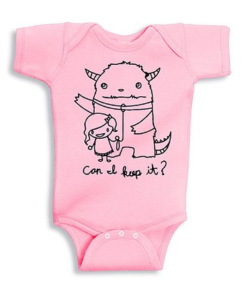 Pink 'Can I Keep It' Bodysuit - Infant