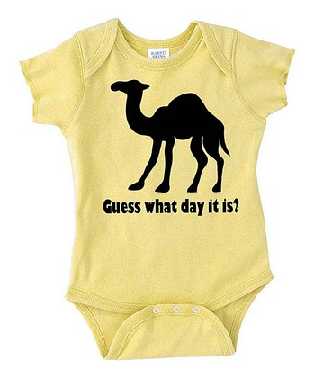 Lemon Camel Bodysuit - Infant