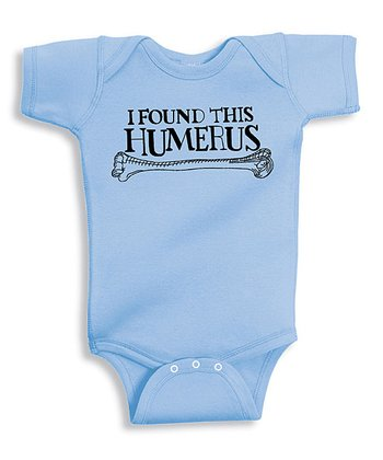 Baby Blue 'Humerus' Bodysuit - Infant