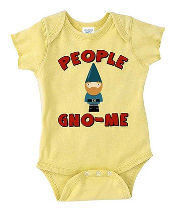 Lemon 'Gno-Me' Bodysuit - Infant
