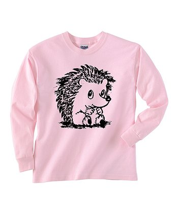 Pink Baby Hedgehog Tee - Toddler & Girls