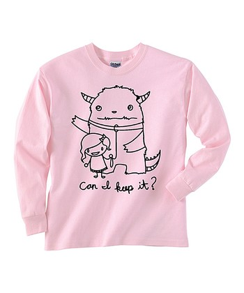 Pink 'Can I Keep It' Tee - Toddler & Girls