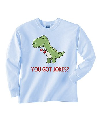 Baby Blue 'You Got Jokes' Tee - Toddler & Boys