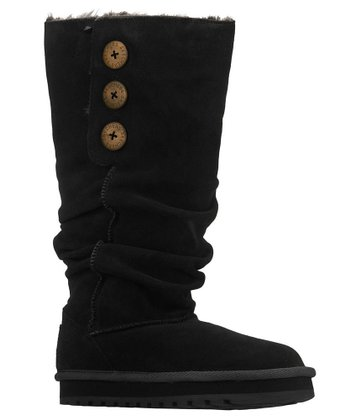 Black Suede Brrrr Keepsakes Boot