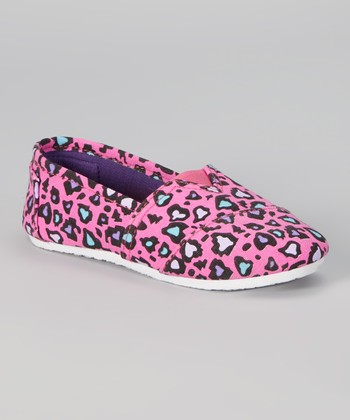 Fuchsia Leopard Slip-On Shoe