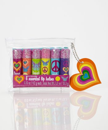 Rainbow Bright Lip Balm Set