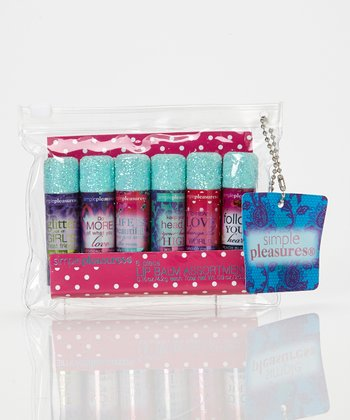 Live, Love, Fashion Lip Balm Set