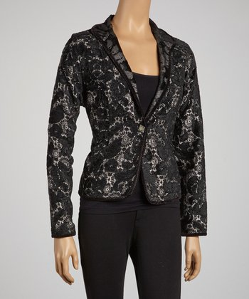 Purple Glitz Reversible Jacket