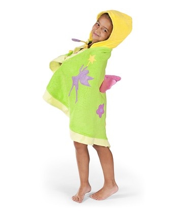 Green Fairy Hooded Towel