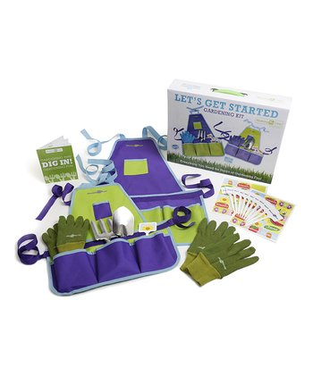Mommy & Me 'Let's Get Started' Gardening Set