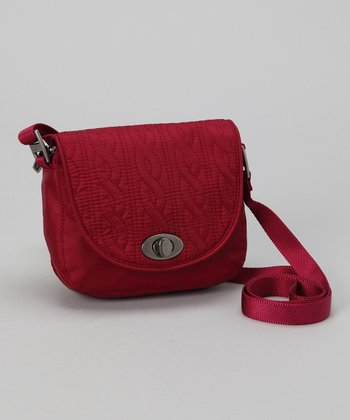 Cranberry Delight Mini Crossbody Bag