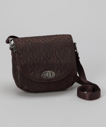Espresso Delight Mini Crossbody Bag