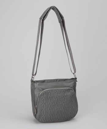 Pewter Allure Crossbody Bag