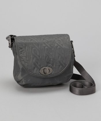 Pewter Delight Mini Crossbody Bag